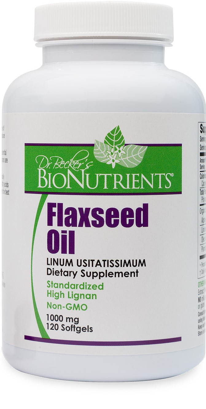 Flaxseed Oil, 1000mg, 120ct